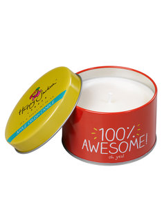 Happy Jackson Candle 100 Percent Awesome