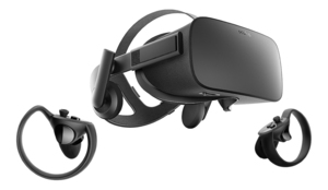 Oculus Rift VR + Touch VR Headset Black