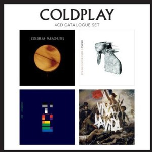 Coldplay 4Cd Catalogue Set Bx4