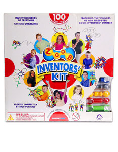 Brain Games Zoob Inventors Kit Building Set