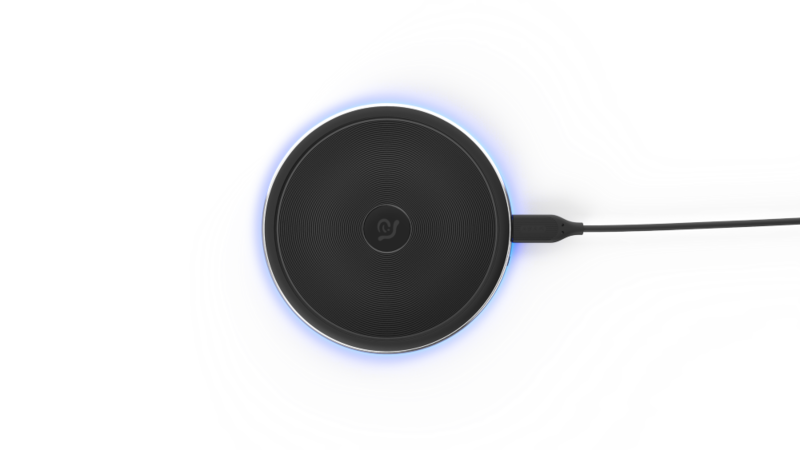 Adam Elements OMNIA Q1 Wireless Charging Pad Black