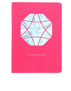 Portico Design Aquamarine Birthstone Pink A6 Notebook