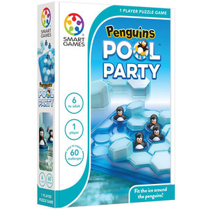 Smartgames Compacts Penguins Pool Party