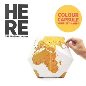 Here Medium Personal Globe Color