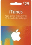 iTunes 25 USD Gift Card