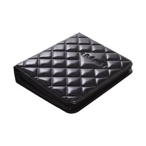 Polaroid Quilted Cover Photo Album Black for 2 x 3 inch Photos [Holds up to 64 Photos]