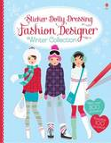 Sticker Dolly Dressing Fashion Designer Winter Collection