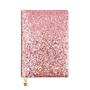 All That Glitters Sequin Pink A5 Notebook