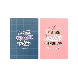 School Do It Now, Celebrate A5 Notebook [Set of 2]