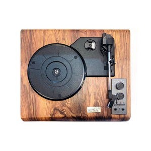 MJI 1689 Turntable Wooden Finish