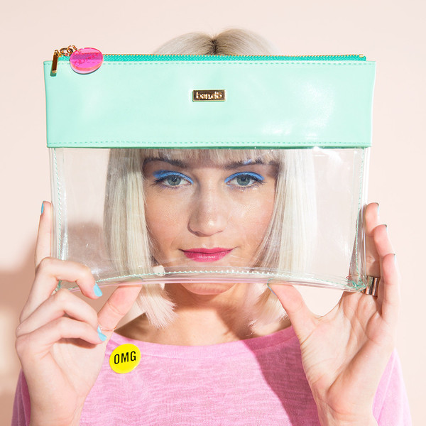 Ban.do Peekaboo Clutch Summer Mint