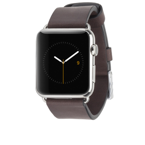 Casemate Signature Leather Band Tobacco Apple Watch 42mm