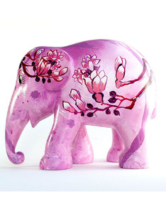 Elephant Parade Flower Of Love Figurine 20cm