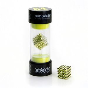 Nanodots 64 Gold Magnetic Dots