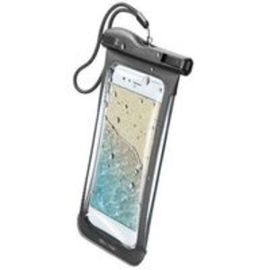Cellular Line Voyager Case Black for Smartphones Up To 6.3-Inch