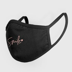 Mister Tee Fasion Mask Smile Black