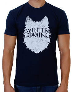 Fanillah Brace Yourselves Midnight Navy T-Shirt