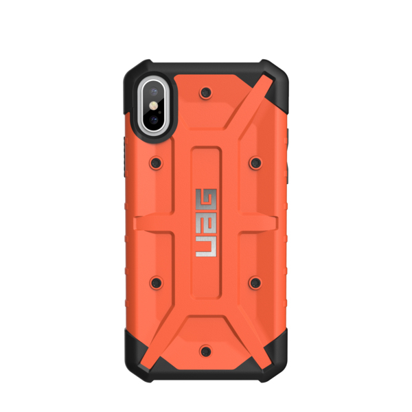 timeless design a7cfb 05525 UAG Pathfinder Case Rust Orange for iPhone X