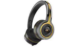 Monster Roc Freedom Black Platinum Bluetooth On-Ear Headphones