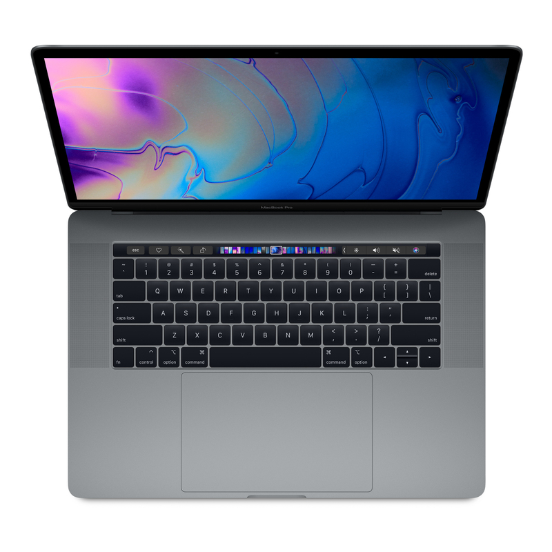 bc8a62542b78 MacBook Pro 15-inch with Touch Bar Space Grey 2.2GHz 6-Core 8th-Generation  Intel-Core i7/256GB