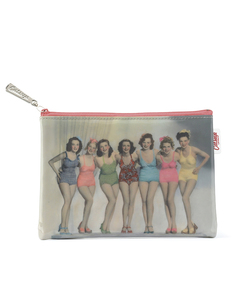 Bathing Belles Flat Bag