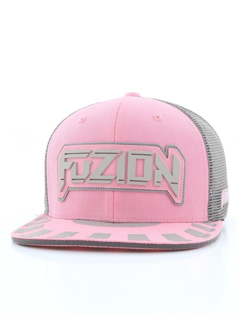 Fuzion Xtreme Snapback Women s Cap Pink Gray  bd01ed758c37