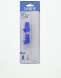 Camelbak Eddy Accessory 2 Bite Valves/2 Straws Blue