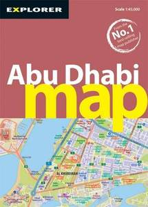 Abu Dhabi Map 3Rd Ed