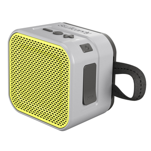 Skull Candy Barricade Grey/Charcoal/Hot Lime Bluetooth Speaker