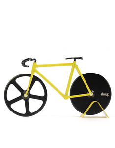 DOIY Design Fixie Pizza Cutter Bumblebee