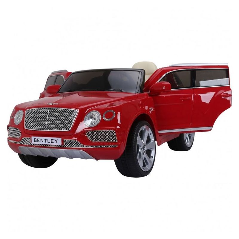 Bentley Bentayga Electric Ride-On Car Red