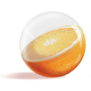 Inflatable 3D Beach Ball Orange