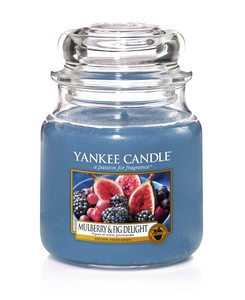 Yankee Candle Classic Jar Mulberry & Fig Deli [Medium]