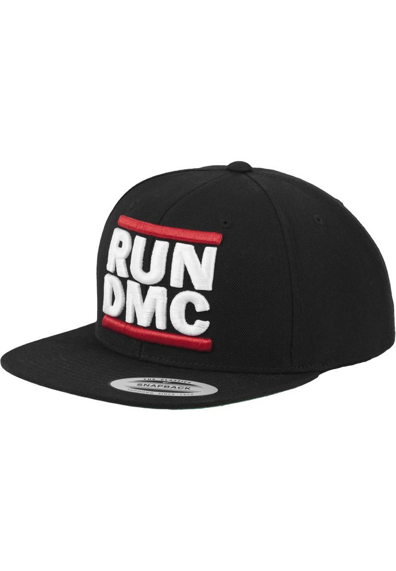 65ea0518 Mister Tee Run DMC Logo Black Unisex Snapback Cap | Caps & Headwear | Men |  Fashion | Virgin Megastore