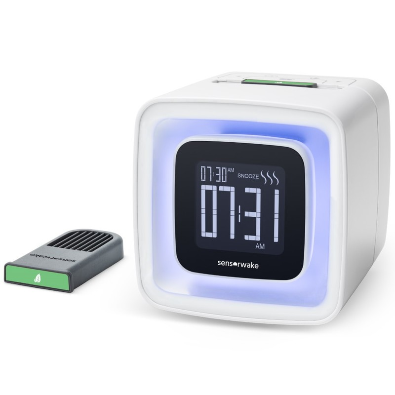 Sensorwake 2 Olfactory Digital Alarm Clock [Includes 1 Capsule]