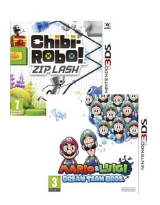 Mario and Luigi Dream Team + Chibi Robo [Bundle]