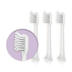 Mipow Bocali Black Toothbrush Head [3 Pack]