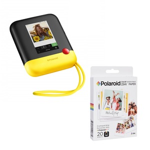 Polaroid POP Instant Digital Camera Yellow + ZINK Paper [20 Sheets]