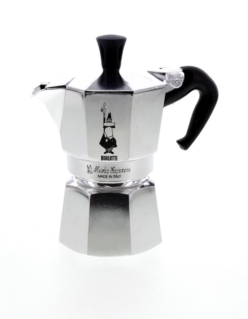 bialetti moka espresso maker 2 cups coffee and tea house virgin megastore. Black Bedroom Furniture Sets. Home Design Ideas