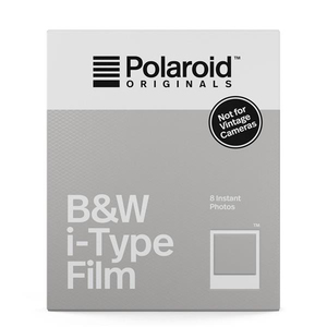 Polaroid B&W Film for i-Type [Pack of 8]