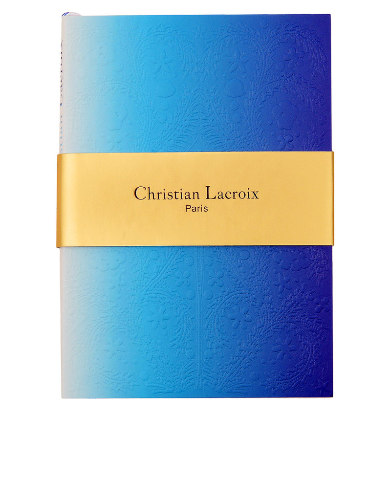 Christian Lacroix A5 Paseo Neon Blue Notebook