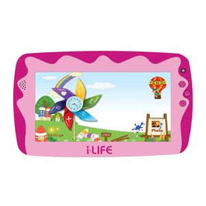 iLife Kids Tab 4 Pink 7 Inch Kids Tablet 512MB/8GB/Wi-Fi/Android 4.2