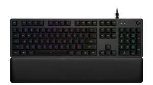 Logitech G 513 Carbon RGB Mechanical Tactile Switch Wired Gaming Keyboard