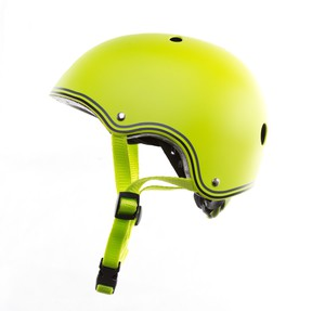 Globber Helmet Junior Lime Green
