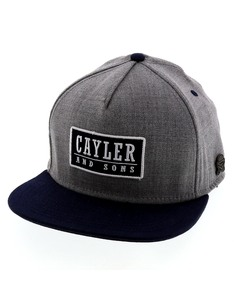 Cayler & Sons Cl Garage Grey/Navy Cap