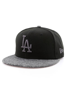 New Era Grey Collection LA Dodgers Black/Graphite Cap