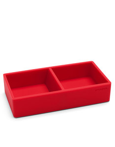 Poppin Inc Softie This & That Tray Red