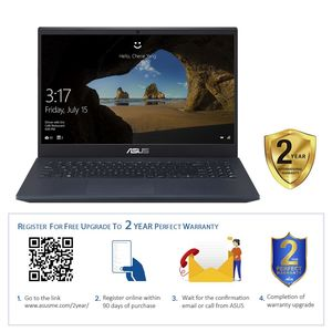 "Asus VivoBook K571GD-BQ215T i7-9750H/16GB/512GB SSD/GeForce GTX 1050 4GB/15.6"" FHD/60Hz/Windows 10/Star Black"