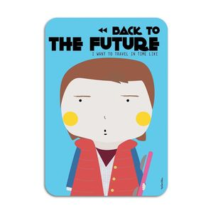 Marty Mcfly Card by Ninasilla [10.5 x 14.8 cm]