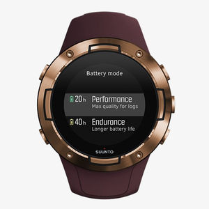 Suunto 5 G1 Compact GPS Sports Watch Burgundy Copper
